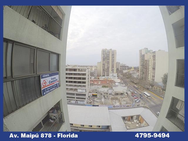 Exc Depto 3 Amb C/balcon y vista lateral al rio- Maipu 1400