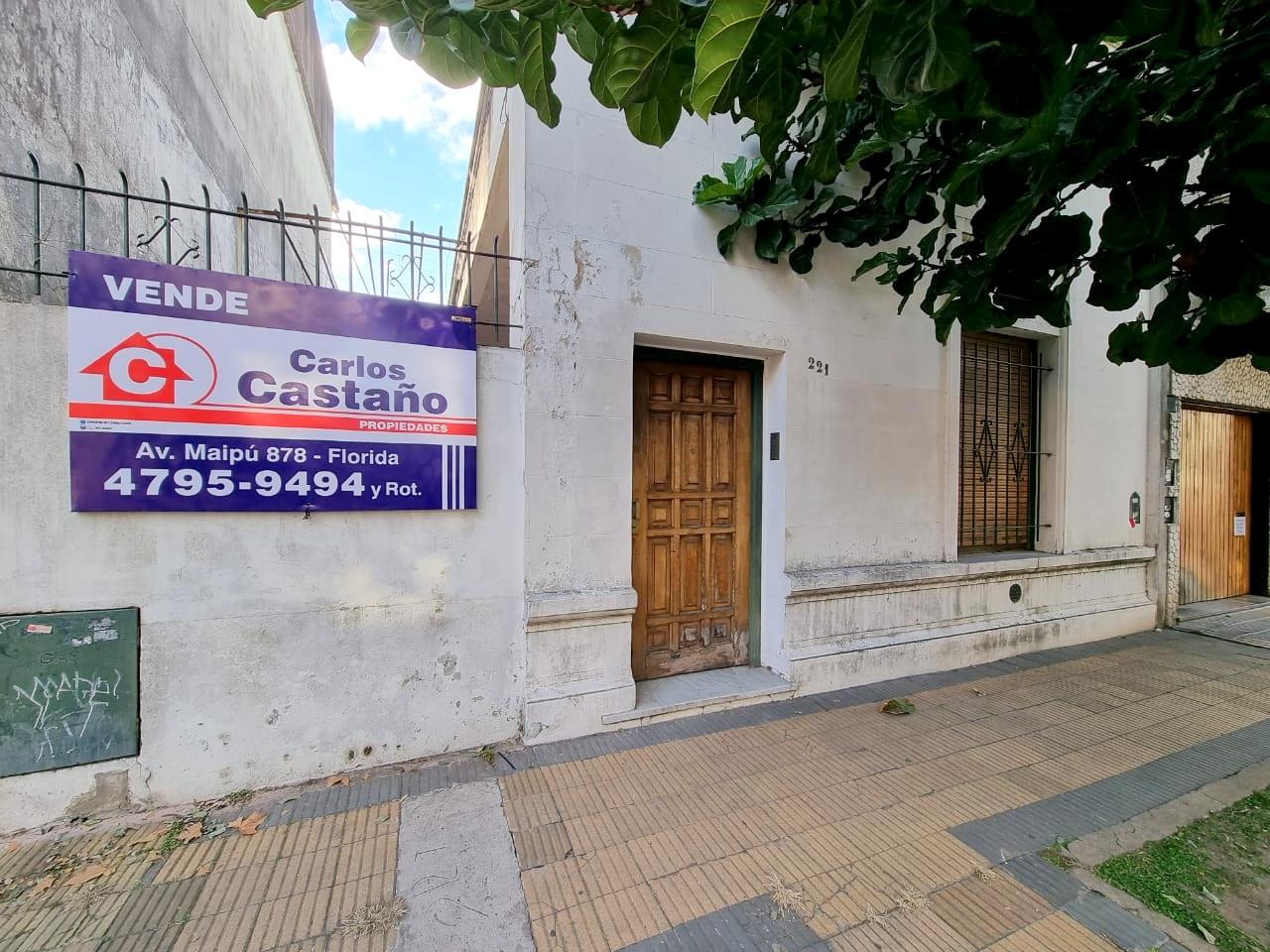 Casa Tipo Chorizo en 1 Planta, Ideal Refaccionar – Liniers 200